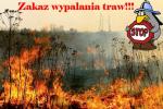 Zakaz wypalania traw