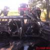 Samochód spłonął