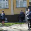 Policjanci na uroczystościach 78. rocznicy Zbrodni Katyńskiej