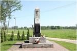 Pomnik POW w Wilczogębach