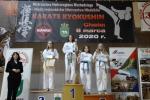 Srebro i brąz na Mistrzostwach w karate Kyokushin