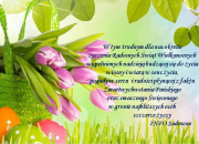 Radosnych Świąt Wielkanocnych!