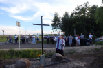 Krzyż epidemiczny w Sadownem
