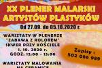 Jubileuszowy XX Plener Malarski