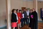 Biskup odwiedził GOK