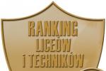 Wysoka pozycja Liceum w Sadownem w Rankingu Perspektyw 2018!