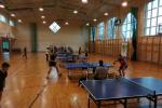 Turniej tenisa stołowego…