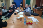 Sadowieńscy wędkarze po corocznym Zgromadzeniu