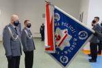 Komendant Powiatowy Policji w Węgrowie pożegnał się z mundurem